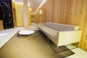 interior de la clínica dental De La Riva