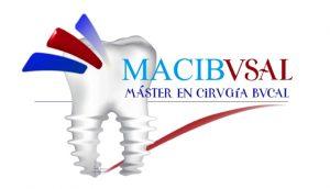 logotipo macibvsal master en cirugia bucal