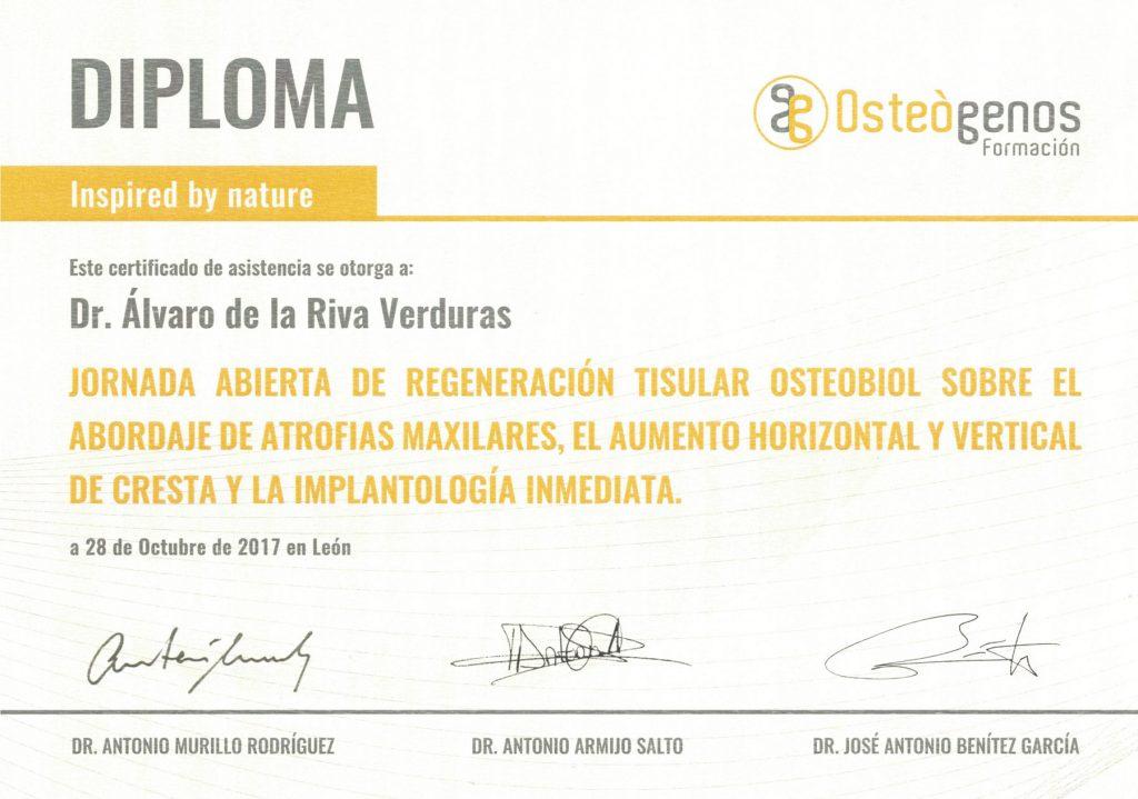 diploma osteogenos